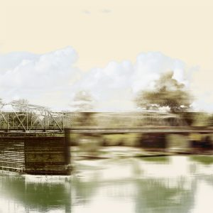 Cloud Bridge Print by Iskra