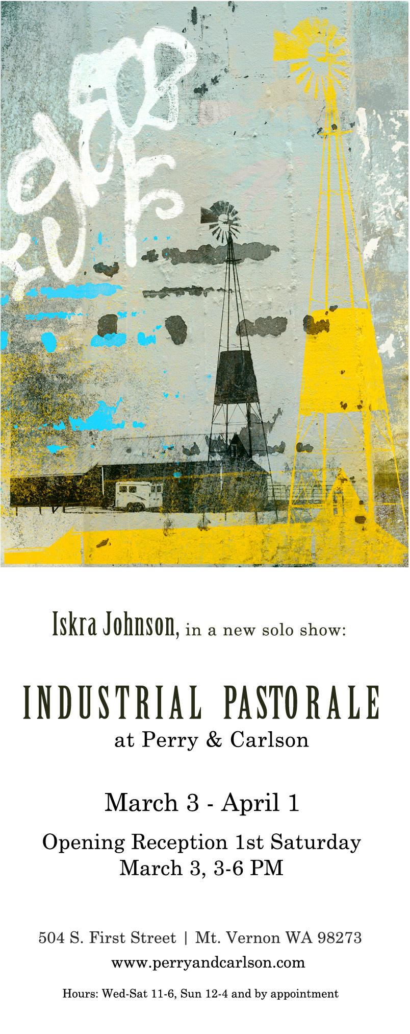 Iskra in Industrial Pastorale at Perry & Carlson