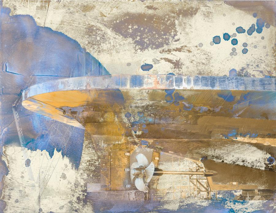 Drydock, the Salish print by Iskra