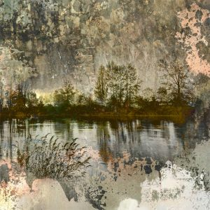 River Nocturne Iskra Print