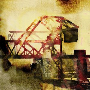 Counterweight, industrial print by Iskra