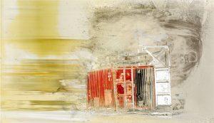 Industrial Noise Iskra Print