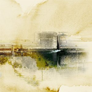 Spillway, the Locks, print by Iskra