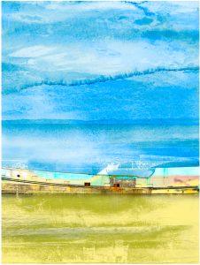 Under the Salish Sky print by iskra