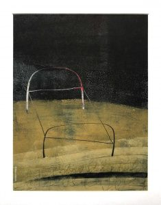 Ex- Voto bed painting by Iskra