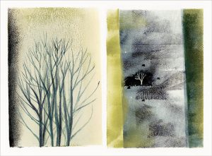 Tree Sequence Brayer Drawing by Iskra