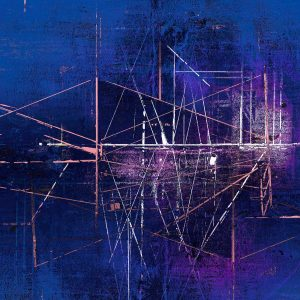 Magellan's Ladder by Iskra, Scaffold series print