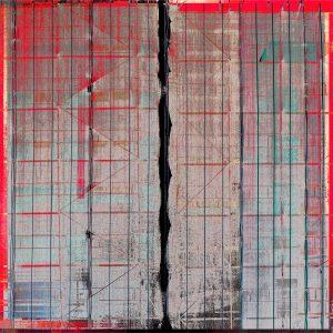 """Sari Scaffold"" print by Iskra"
