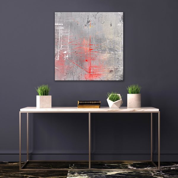 """Wind Scaffold,"" print by Iskra"