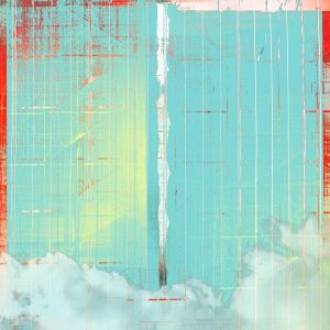 Cloud Scaffold print by Iskra