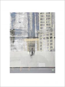Facade (Smith Tower) print by Iskra