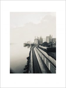 Silver Train Vista (Coast Starlight) limited edition print