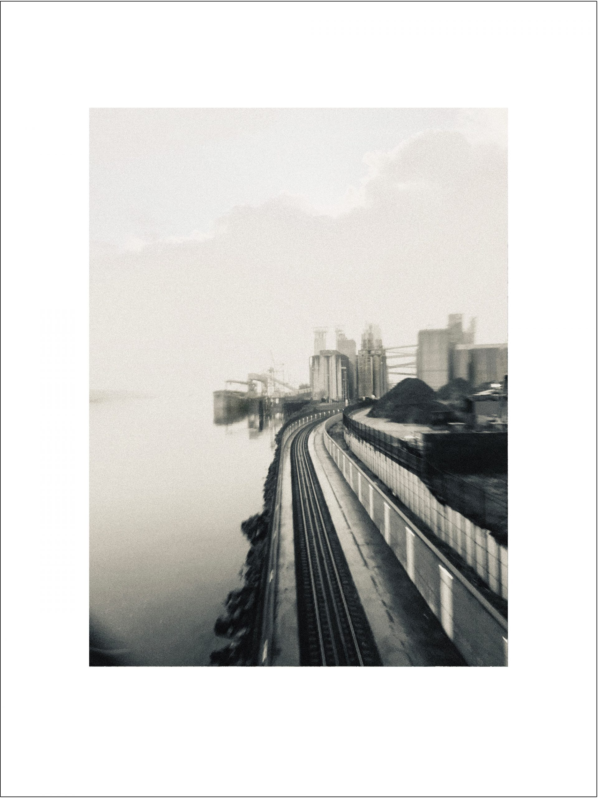 Silver Train Vista (Coast Starlight) limited edition print