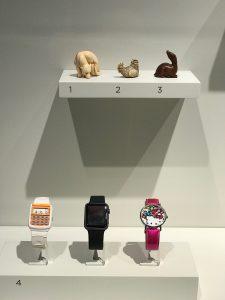 SAAM snuff bottles on display