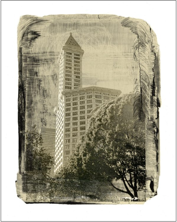 Smith Tower Landmark Print by Iskra