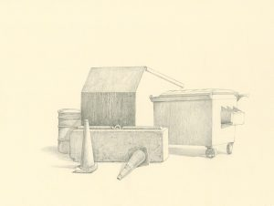 Arrangement in Urban Light, drawing by Iskra