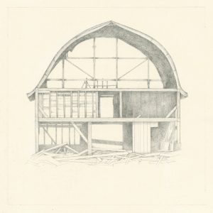 Architecture of Memory, drawing by Iskra