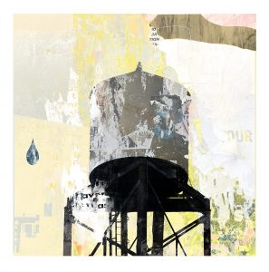 Waterstreet (Babel) Watertower print by Iskra