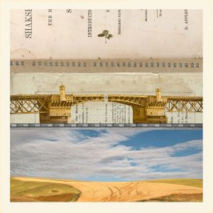 Collage Life, the Bridge Between Collage by Iskra