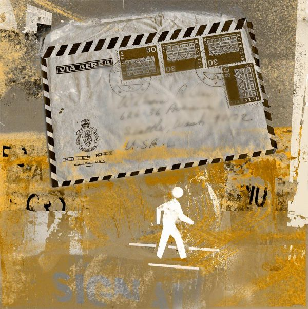 Correspondent Letter collage by Iskra