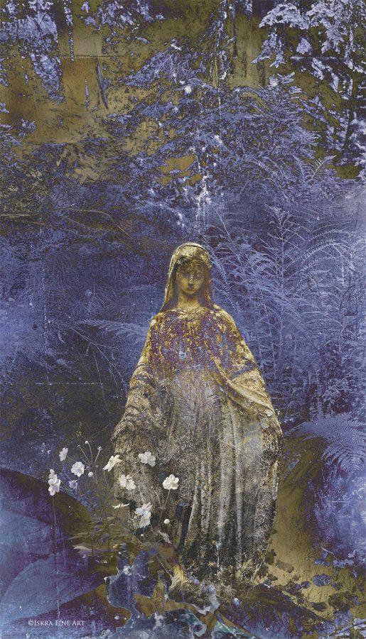 A Walk in Eden print by Iskra