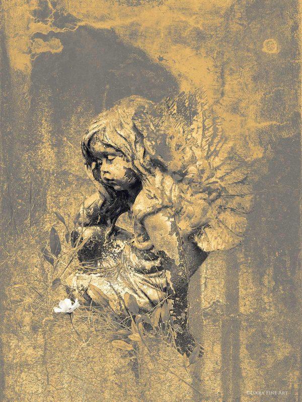 Sun Angel print by Iskra