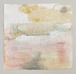 Braille Sky painting by Iskra