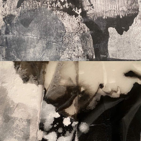 Juxtapositions of paper and texture