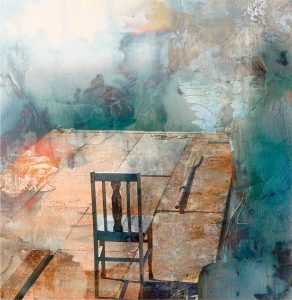The Blue Chair, by Iskra